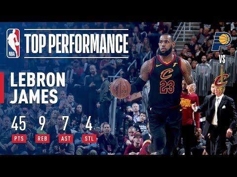 LeBron James Drops 45 Points in GAME 7!