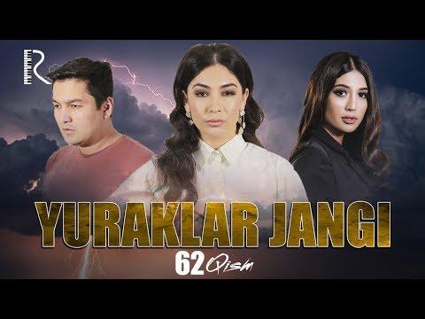Yuraklar Jangi (o'zbek Serial) | Юраклар жанги (узбек сериал) 62-qism #UydaQoling