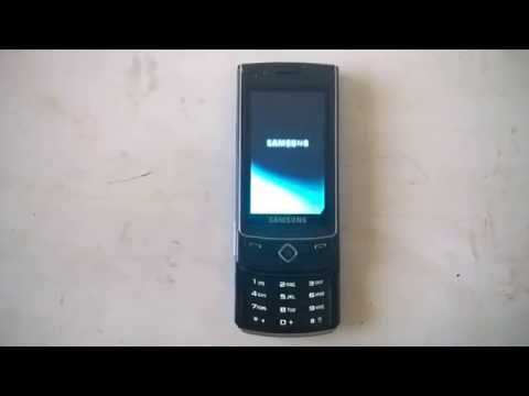 VINTAGE CELL PHONE SAMSUNG S8300 ULTRA TOUCH EMATUBE COLLECTION - 20/08/2014