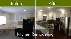Kitchen Renovation - Before and After - Palm Beach County | Veltuz