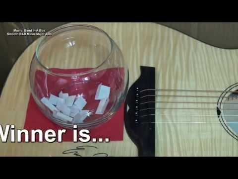 WINNER! B.C. RICH BCR3N Acoustic Electric Guitar Giveaway EricBlackmonMusicHD