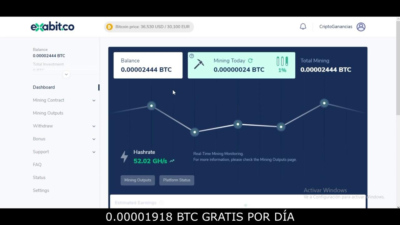bitcoin invierte gratis