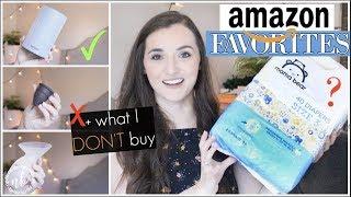AMAZON FAVORITES 2018 + Things I DON'T buy on Amazon! | AMAZON PRIME DAY | Natalie Bennett