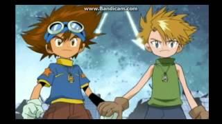 Digimon Adventures : Agumon & Gabumon Warp Digivolve Japanese.