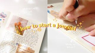 ? how to start a journal | mat…