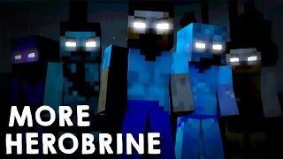 Minecraft Mod: SUPER HEROBRINES! (Herobrines Mutantes // More Herobrine)