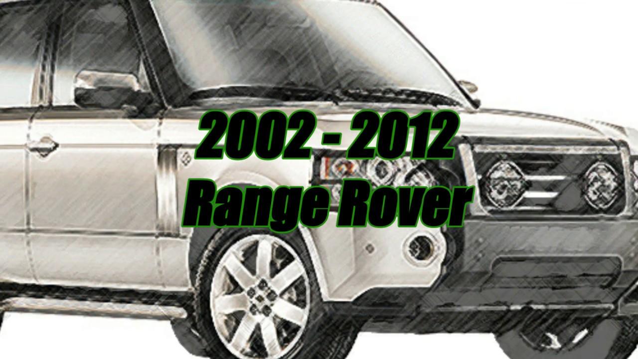 2002-2012 Range Rover into neutral w/o battery power