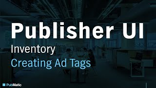 PubMatic Reklam Etiketleri Oluşturmak için nasıl