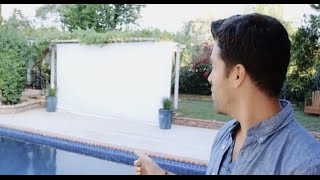 Build An Outdoor Movie Screen