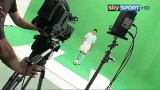 Spot Sky, le immagini del backstage con Floccari, Zarate e Bresciano