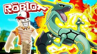 RAYQUAZA! / Pokemon Fighters EX / Roblox Adventures