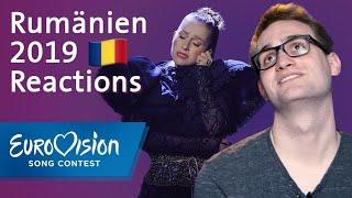 "Ester Peony - &quotOn A Sunday"" - Rumanien Reactions Eurovision Song Contest"