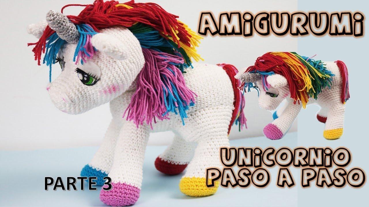 Como tejer alas Unicornio By Petus TERCERA PARTE - YouTube   720x1280