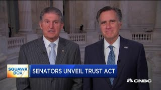 Sens. Mitt Romney and Joe Manchin on their plan to tackle government spending