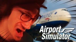 Das SCHLECHTESTE Spiel der Welt | Airport Simulator 2019