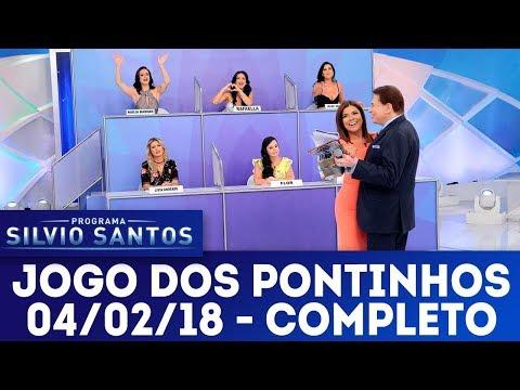 Jogo dos Pontinhos - Completo | Programa Silvio Santos (04/02/18)