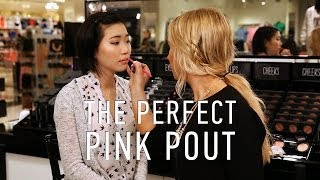 On-The-Spot Makeup Tutorial: How To Wear Pink Lipstick Thumbnail