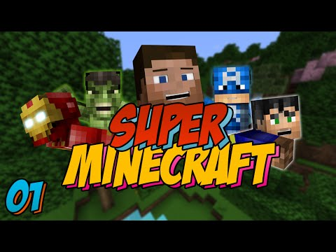 Super Minecraft: Episode 1 - Hall Tour!! (