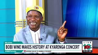 One on One With Tamale Mirundi: Bobi Wine makes History at Kyarenga Concert thumbnail