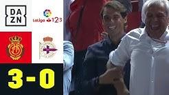 Rafael Nadal feiert Wunder-Aufstieg: RCD Mallorca - Deportivo La Coruna 3:0 | La Liga 2 | DAZN