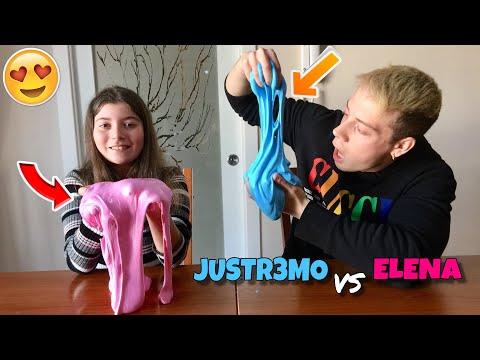 CREIAMO DEGLI SLIME GIGANTI !!! *JustR3mo vs Elena*