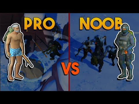 PRO VS NOOB CHALLENGE  (OLD MINE TRICK)     LAST DAY ON EARTH: SURVIVAL
