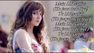 Katti Batti Songs | Mein Bhi SARFIRA  LYRICS VIDEO | KK | Imran Khan | Kangana Ranaut 2015