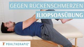 Bei Schmerzen im unteren Rücken: Iliopsoasübung