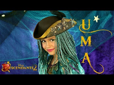 Descendants 2 Uma Costume and Makeup