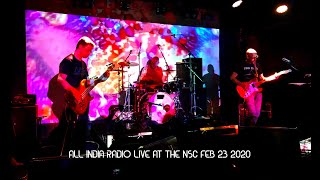 All India Radio - Live at the NSC Feb 23 2020 (4K)