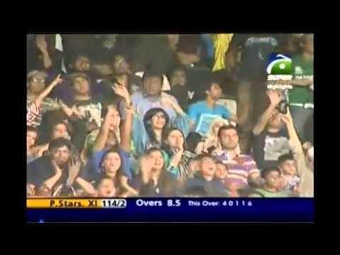 Pakistan World XI V International World XI 1st T20 1st Innings