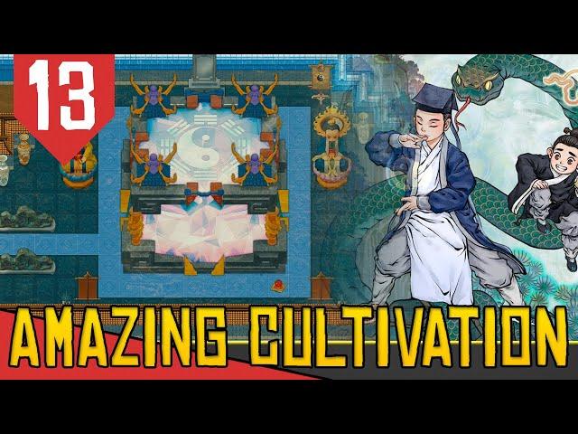 Construindo o MINI UNIVERSO - Amazing Cultivation Simulator Immortal #13 [Série Gameplay PT-BR]