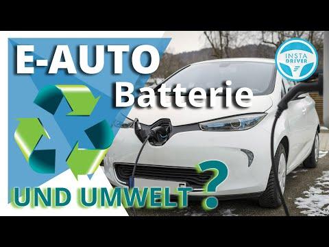 Elektroauto Batterie    Second Life + Recycling des Akkus