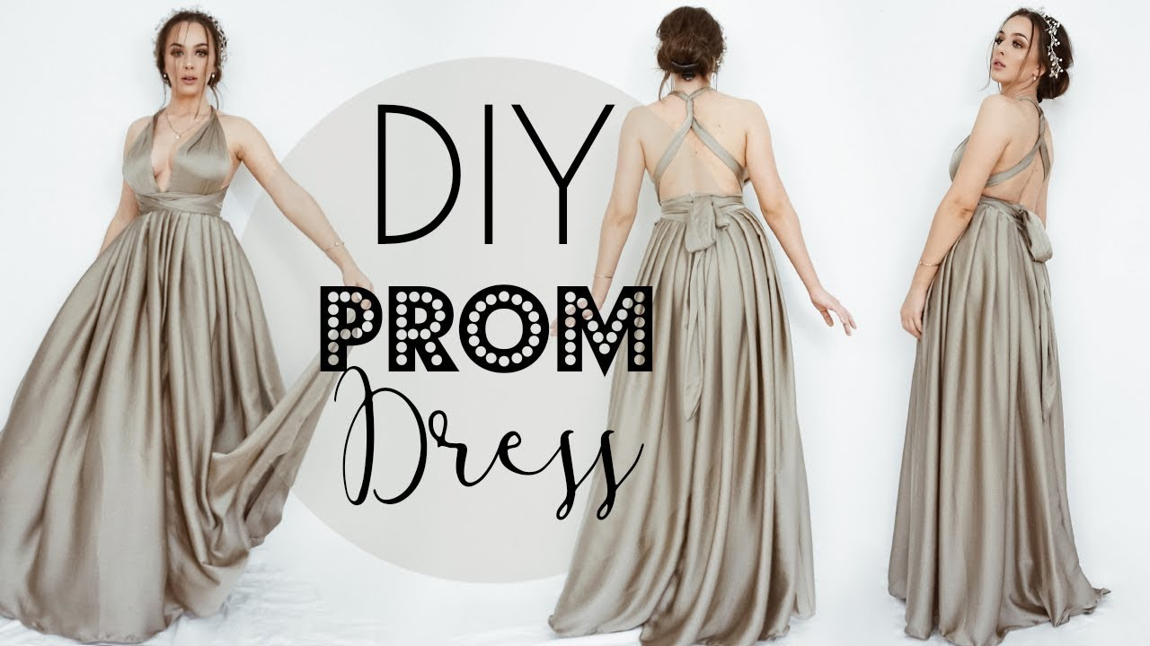 DIY Prom Dress ( NO! BASIC PATTERN USE ! )