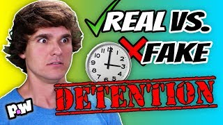 Real vs Fake - Detention Stories (Back to School edition!)