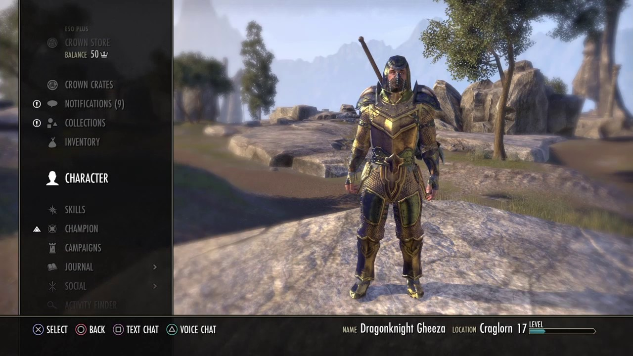 Eso Collection Ps4