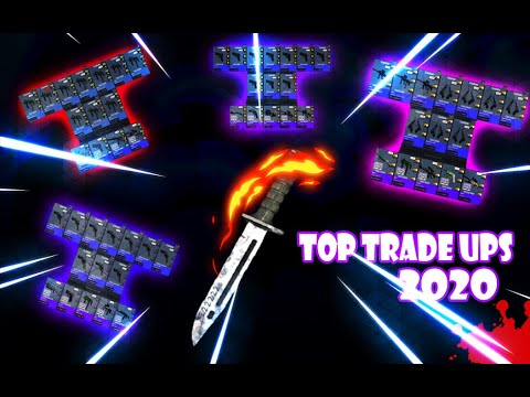 Top 4 CS GO TRADE UPS 2020 LESS THEN 1$ + 2000 SUBSCRIBERS SPECIAL GIVEAWAY