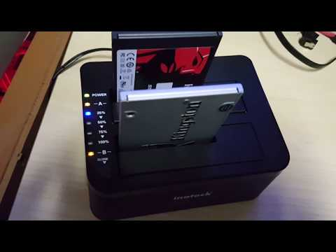 How To Clone A Hard Drive Or SSD With The Inateck Docking Station
