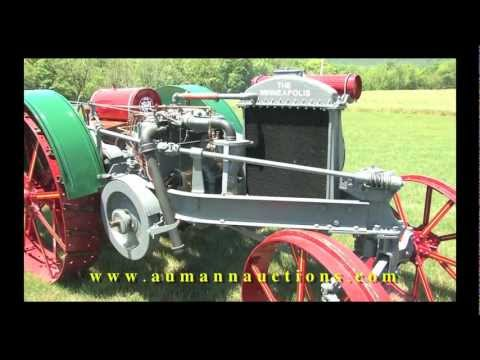 Minneapolis Threshing Tractor 12-25 - Lake Side Farms Auction - Aumann Auctions