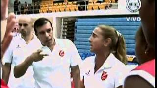 VOLEY PERU VS MEXICO [3-0] - Tailandia 2013 (1er. Set) 25-07-2013