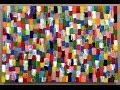 Large Acrylic Abstract Artwork Demo how to paint lessons YouTube
