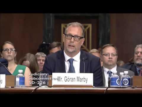 Sen  Cruz Questions ICANN's CEO & President Marby