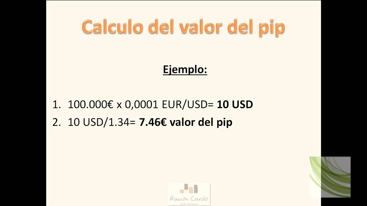 Calculadora de ganancias forex