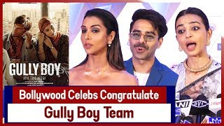 Bollywood Celebs Congratulate 'Gully Boy' Team For Making Official Entry In Oscars