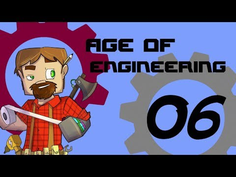 FTB Age of Engineering 1.10 Minecraft Episode 6: Power from