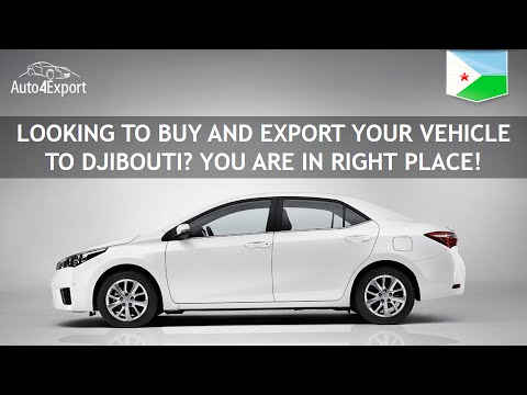 Shipping cars from USA to Djibouti - Auto4Export