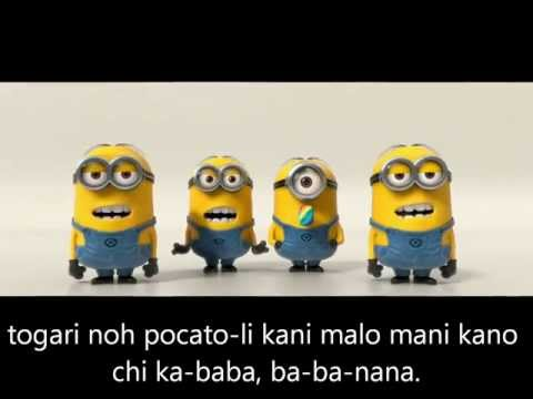 Die Minions-Banana (Lyrics)