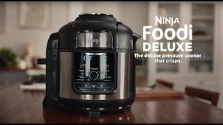 Pressure Cooker   Meet the Ninja® Foodi™ Deluxe Pressure Cooker (FD400 Series) Resimi