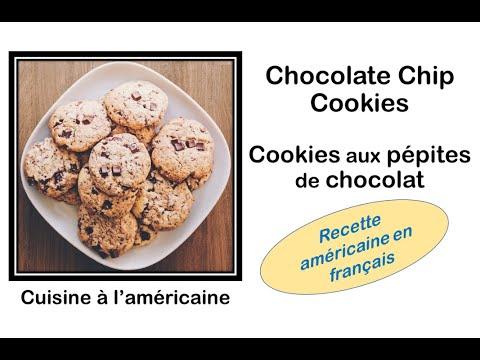 🍪🥛🍪-chocolate-chip-cookies---recette-américaine-en-français---cookies-aux-pépites-de-chocolate-🍪🥛🍪