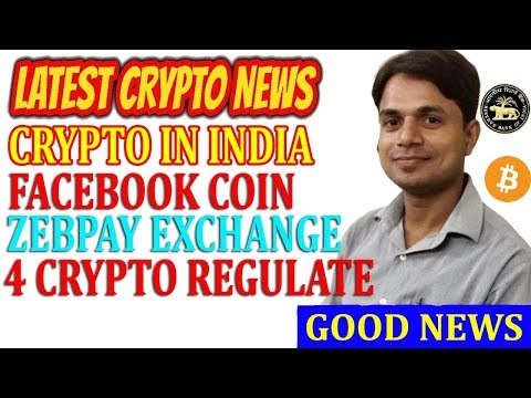 Cryptocurrency Regulation in India | Crypto News today | Zebpay | 4Crypto Regulate | Facebook Coin